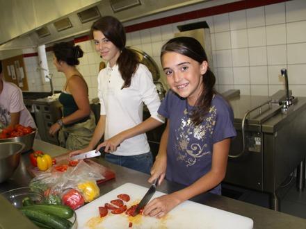 Обучение кулинарии Village Camp, Leysin