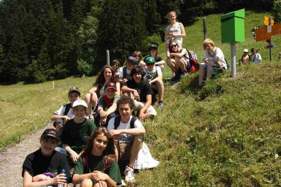 На экскурсии Haut-Lac, Les Sciernes