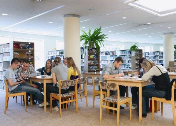 Библиотека Vistula University