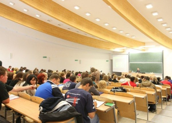 Аудитория Vistula University