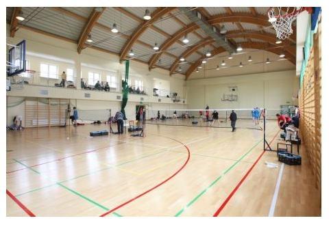 Спортивный зал Vistula University