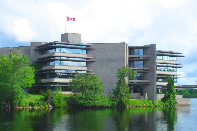 Вид на кампус Trent University