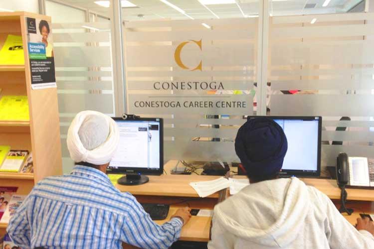 Студенты Conestoga College