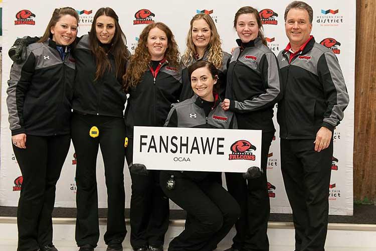Команда по кёрлингу Fanshawe College