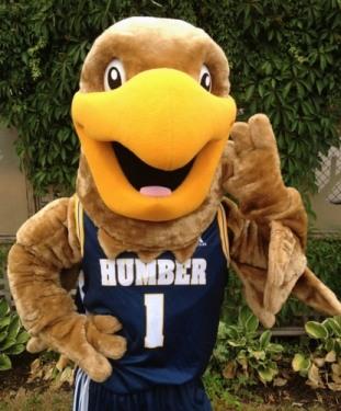 Символ баскетбольной команды Humber College