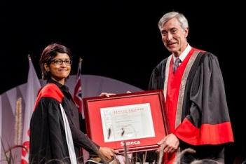 Церемония выдачи дипломов в Seneca College