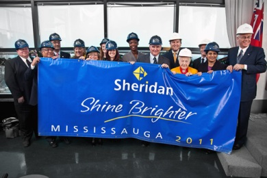 Церемония открытия кампуса Миссиссога Sheridan College