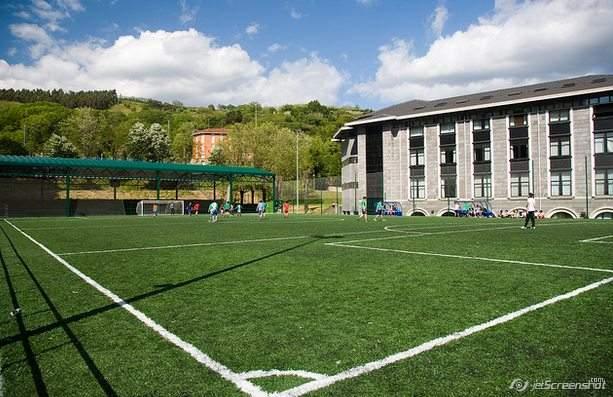 Футбольное поле на кампусе Бильбао, Университет Деусто