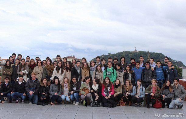 Студенты на экскурсии, Университет Деусто