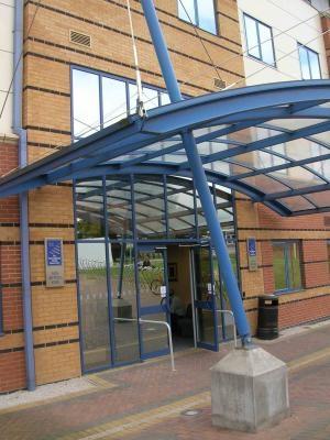 Вход в школу, OISE Nottingham