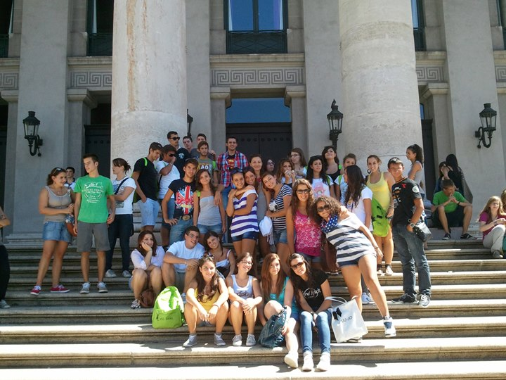 Студенты на экскурсии, DID Augsburg