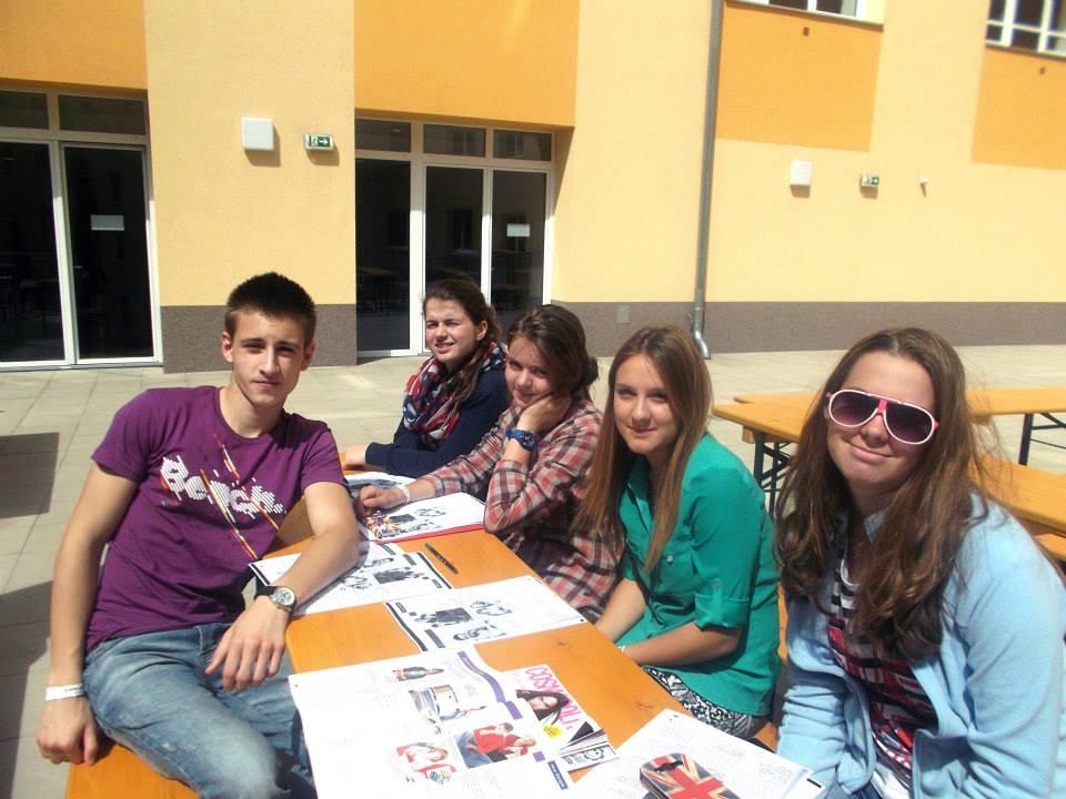 Студенты на перемене, DID Augsburg