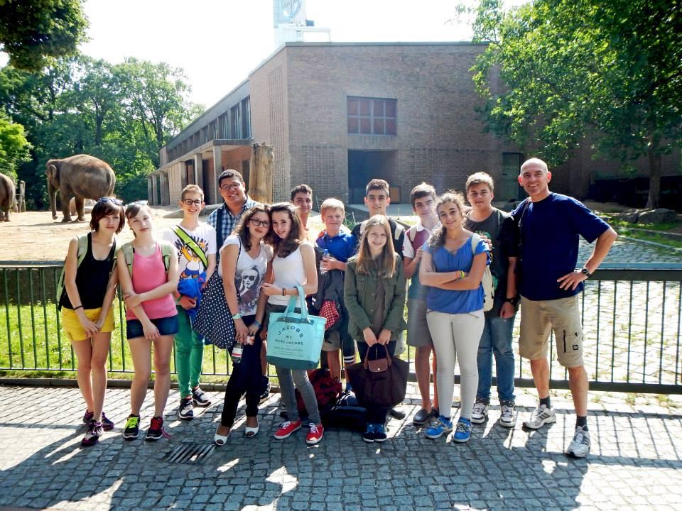 Студенты в зоопарке, DID Augsburg