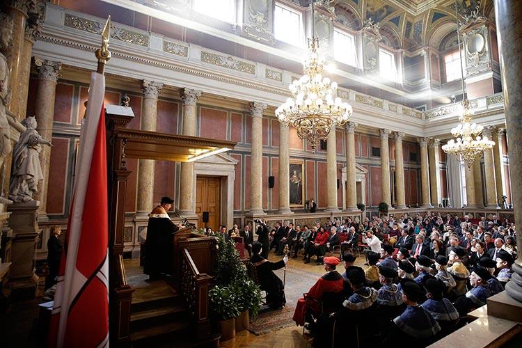 Торжественное мероприятие в Universität Wien