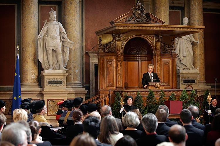 Награждение учёных Universität Wien, сделавших найбольший вклад в науку