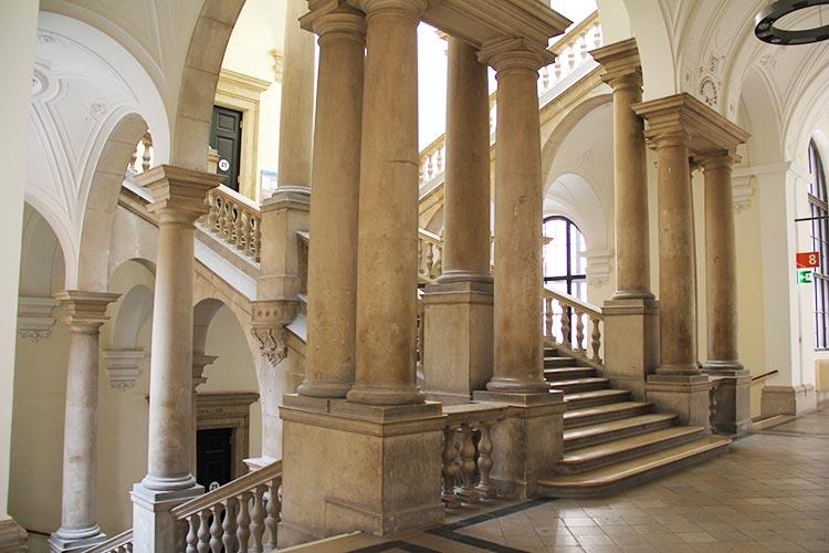 Архитектура Universität Wien
