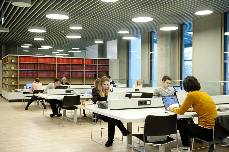 Новая библиотека для студентов-медийников Universität Wien