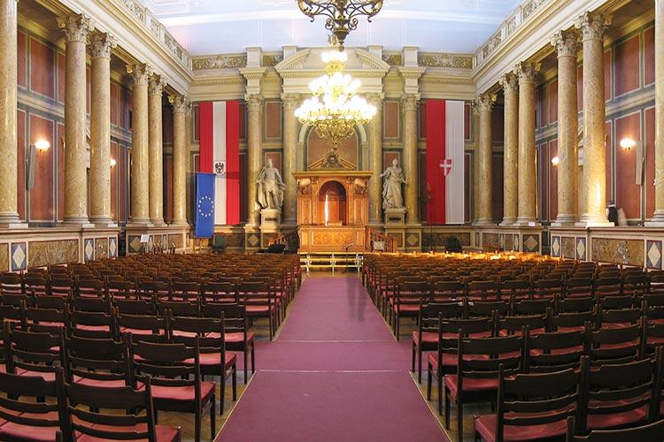 Зал для торжественных мероприятий Universität Wien