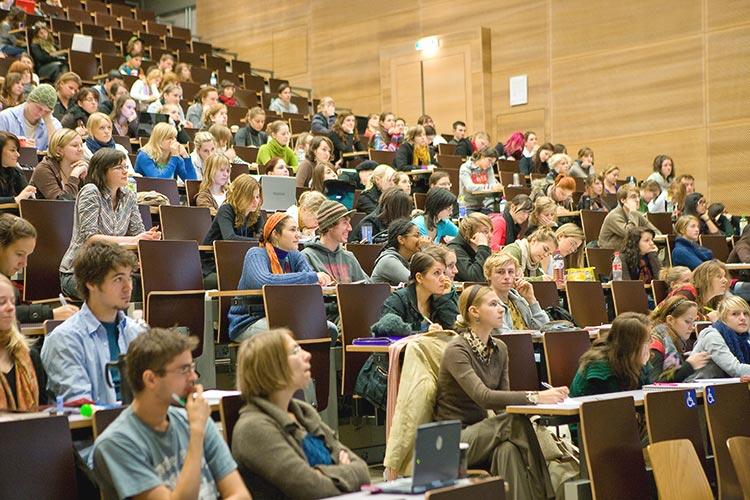 Лекционная аудитория Universität Wien