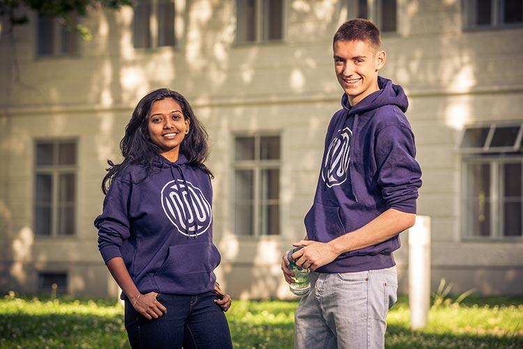 Студенты Universität Wien