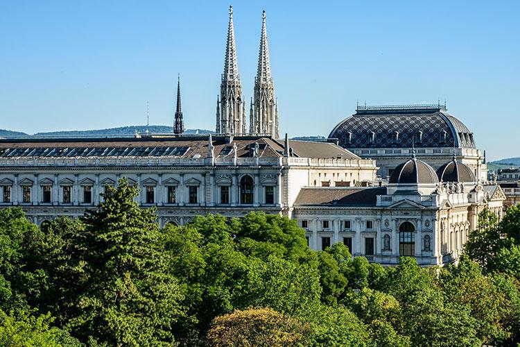 Общий вид на Universität Wien