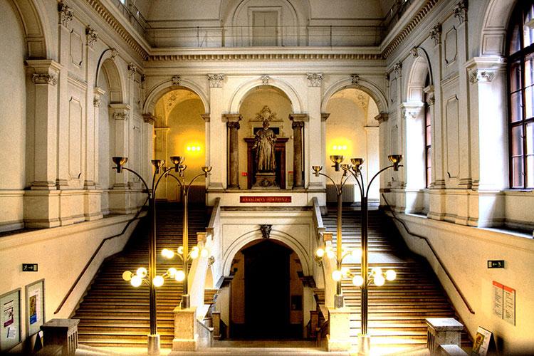 Внутри Universität Wien