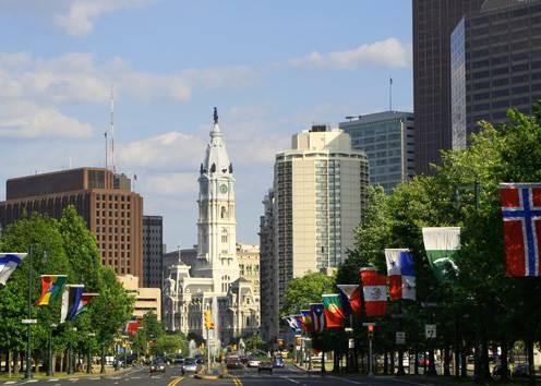 Город Филадельфия