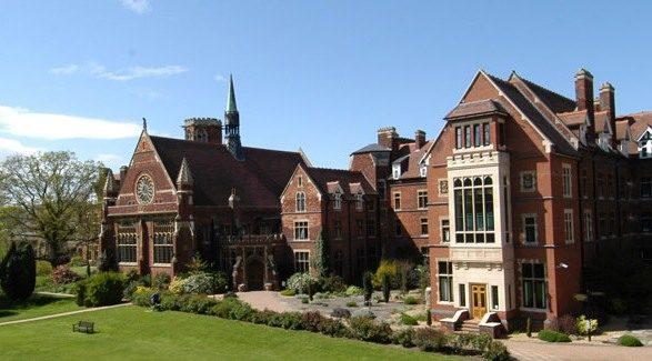 Вид на кампус Bell Cambridge