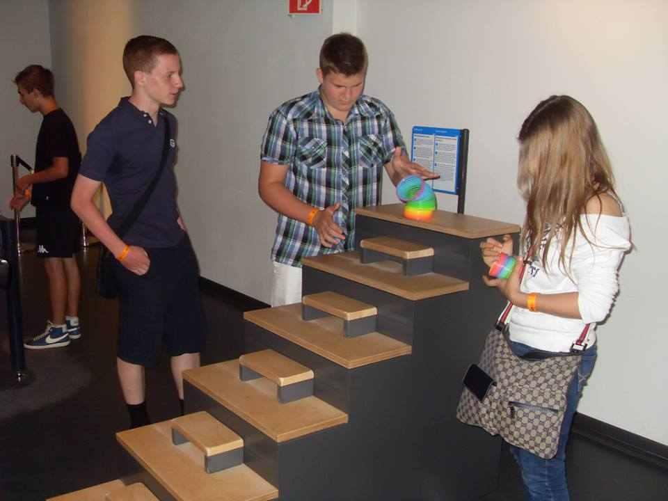 Посещение музея студентами Humboldt-Institut Bad Dürkheim