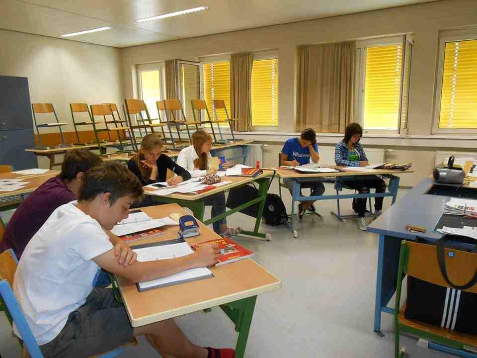 Учебный класс в Humboldt-Institut, Vienna