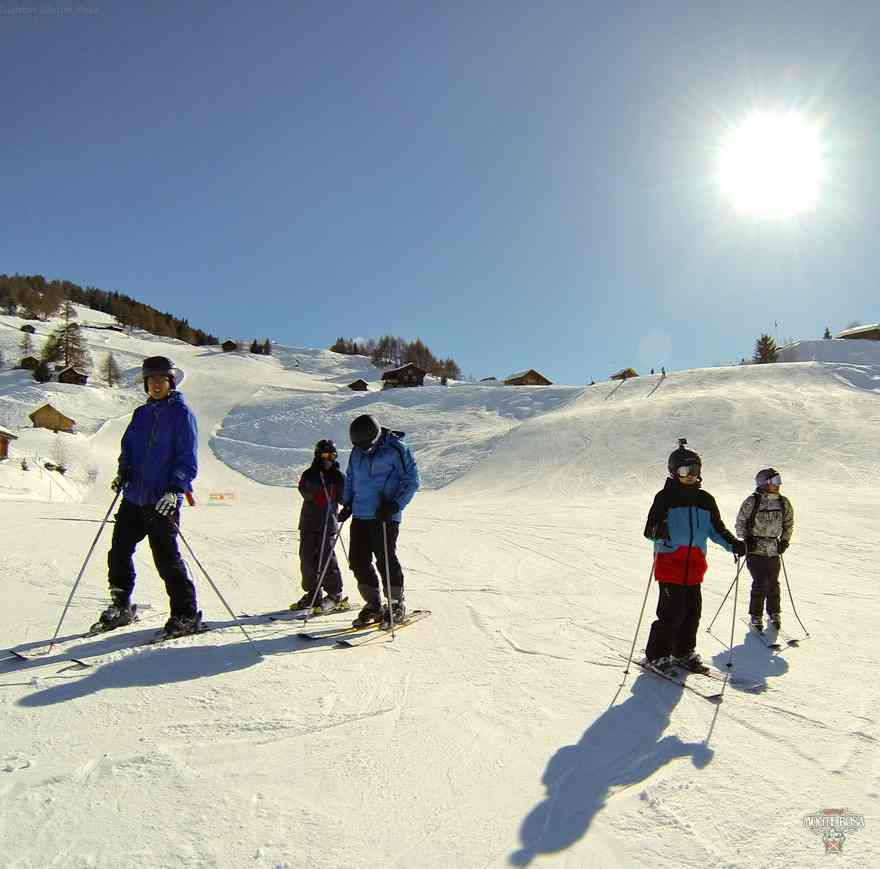 Катание на лыжах Institut Monte Rosa, Montreux