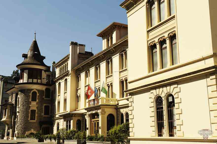 Фасад учебного здания Institut Monte Rosa, Montreux