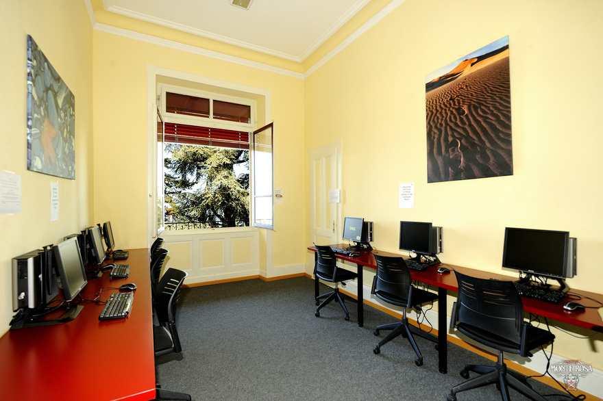 Компьютерный класс Institut Monte Rosa, Montreux