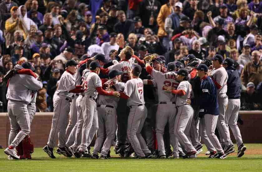 Матч Red Sox, одного из символов Бостона