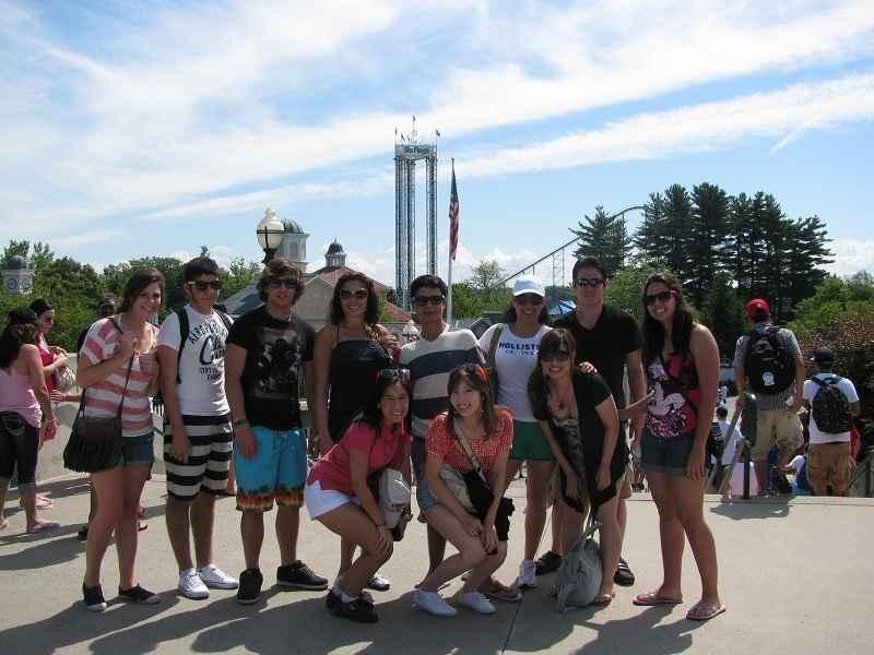 Студенты Talk International во время  экскурсии