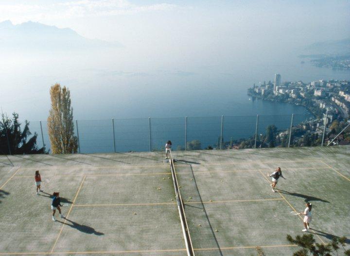 Тенисный корт, Surval Montreux