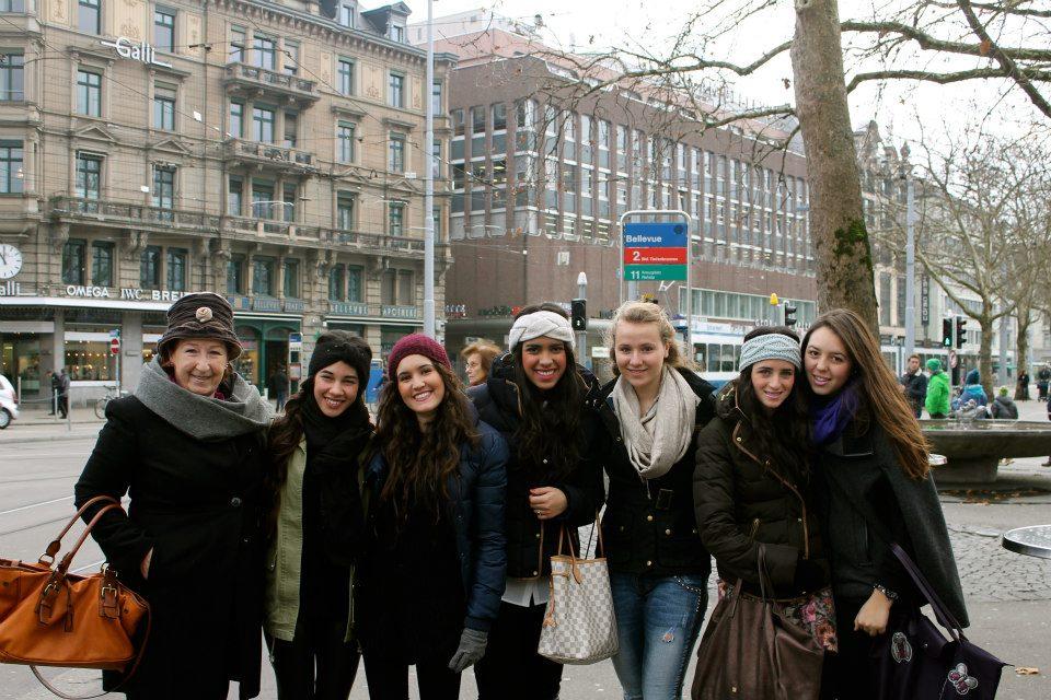 Прогулка по городу, Surval Montreux