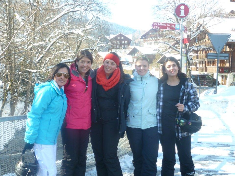 Студенты Surval Montreux