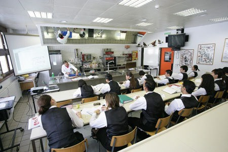 Во время урока, Les Roches
