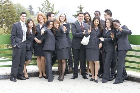Студенты Les Roches