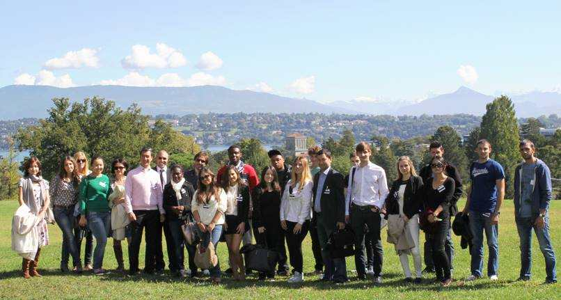 Студенты Geneva Business School