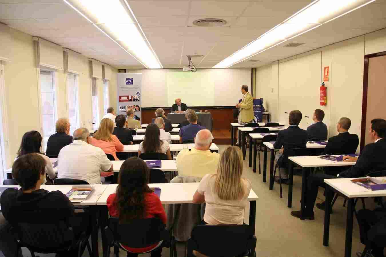 Во время обучения Geneva Business School