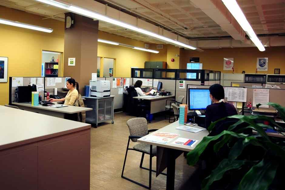 Компьютерный класс ILSC, Toronto