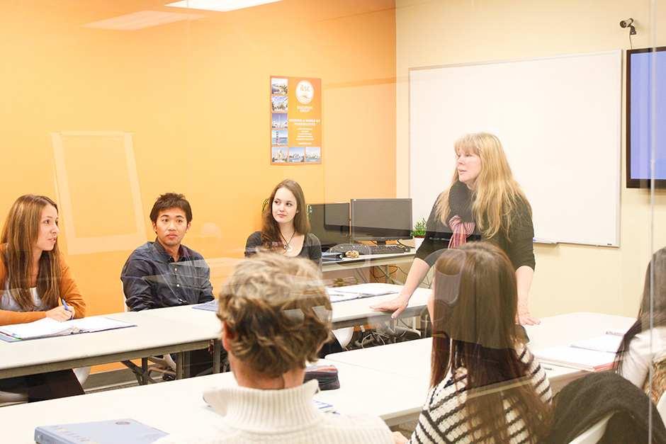 Во время обучения ILSC, Vancouver