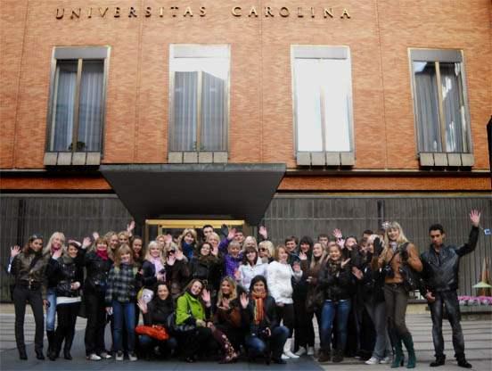 Студенты Карлова университета