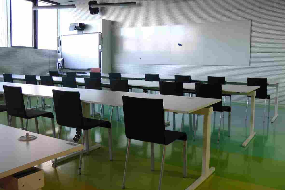 Учебная аудитория в Техническом университете в Праге