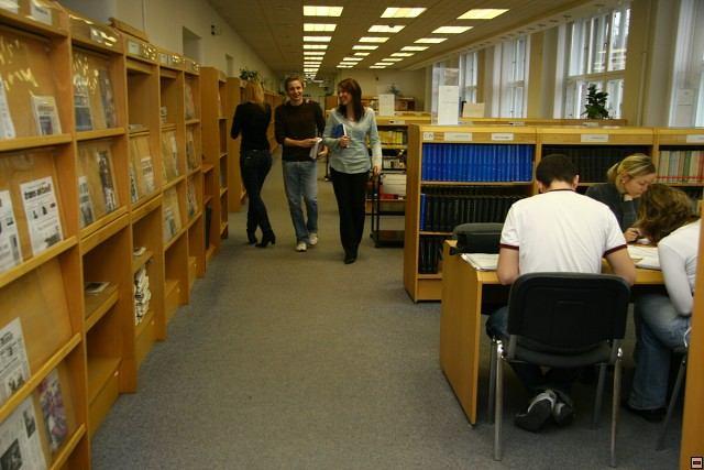 Библиотека высшей школы экономики в Праге