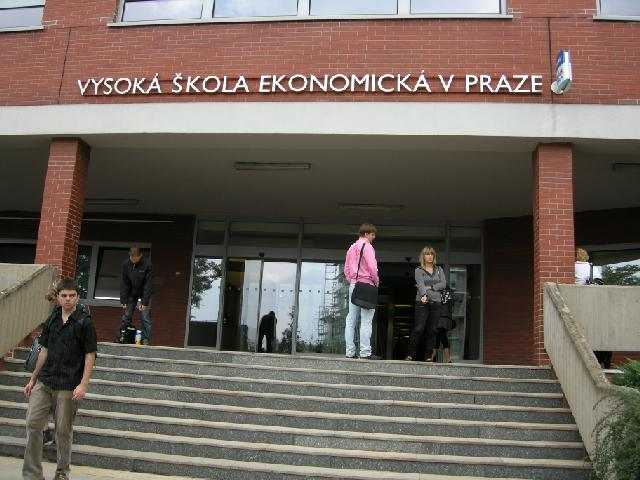 Главный кампус Высшей школы экономики в Праге