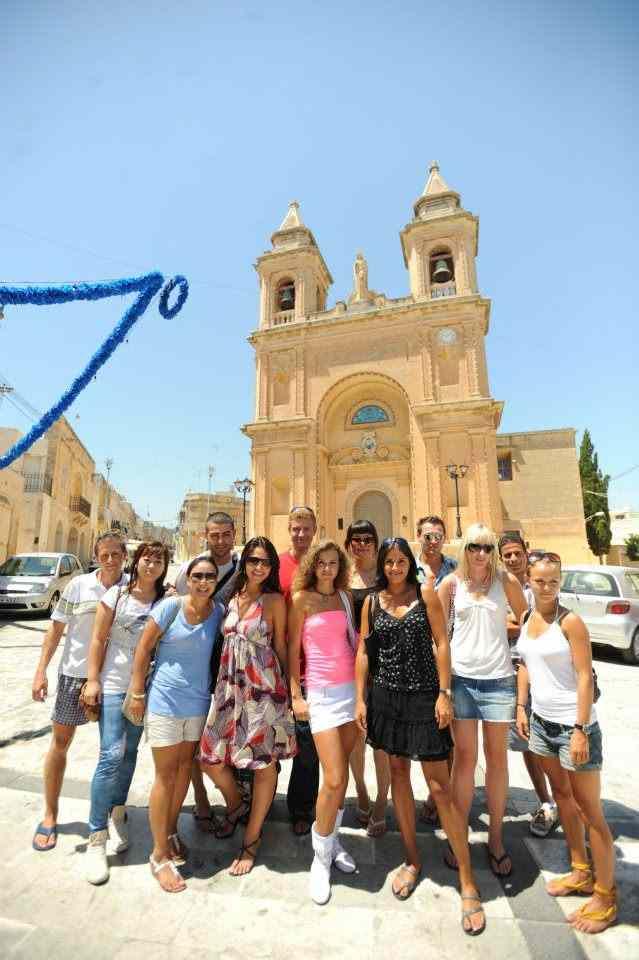 На экскурсии Clubclass, Malta