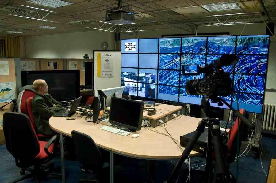 Компьютерная лаборатория университета Масарика